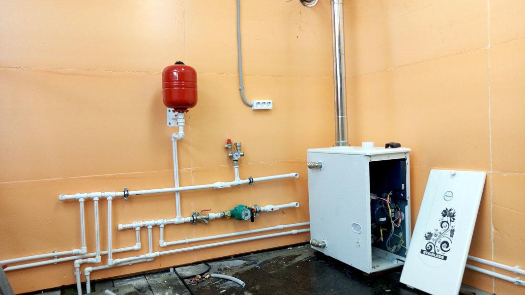 Отопление гаража: самый экономный способ