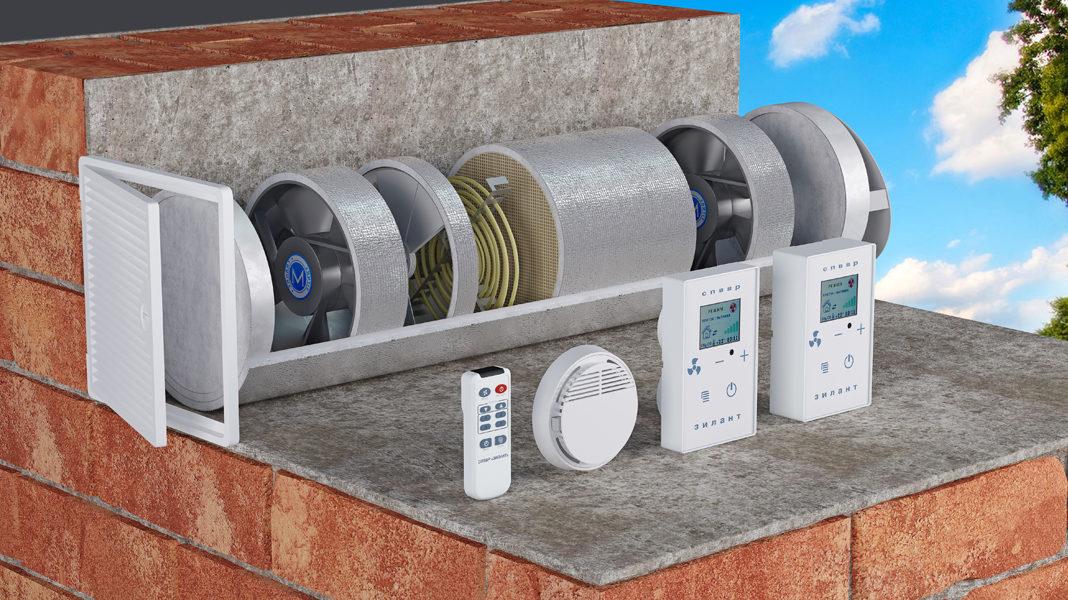 приточные установки вентиляции для дома