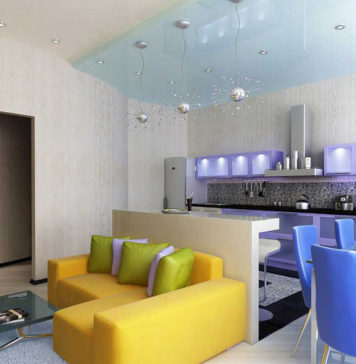 Квартира студия: фото, интерьер и планировка