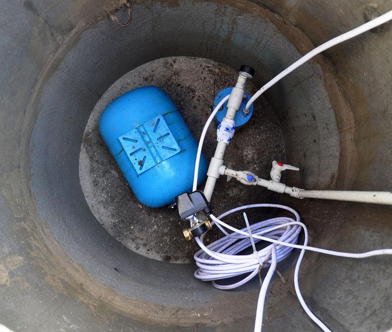 Небольшого гидроаккумулятора достаточно, чтобы поддерживать напор воды в системе водоснабжения