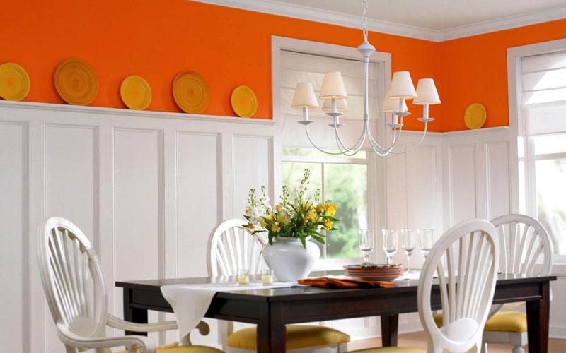 Стиль помещения способен повлиять на дизайн обоев