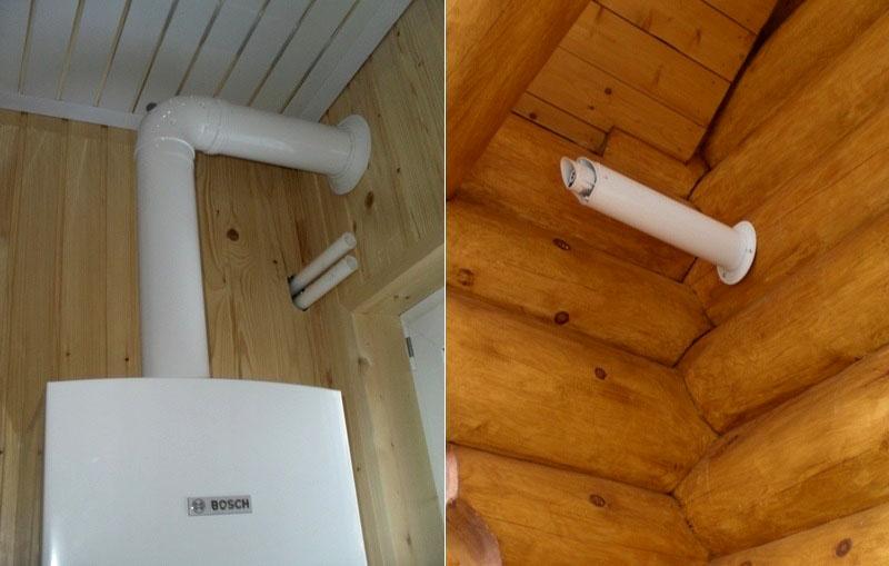 Качественная установка трубопровода безопасна даже для деревянного дома