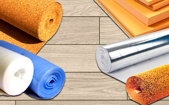 Улучшить характеристики ламината можно с помощью подложки