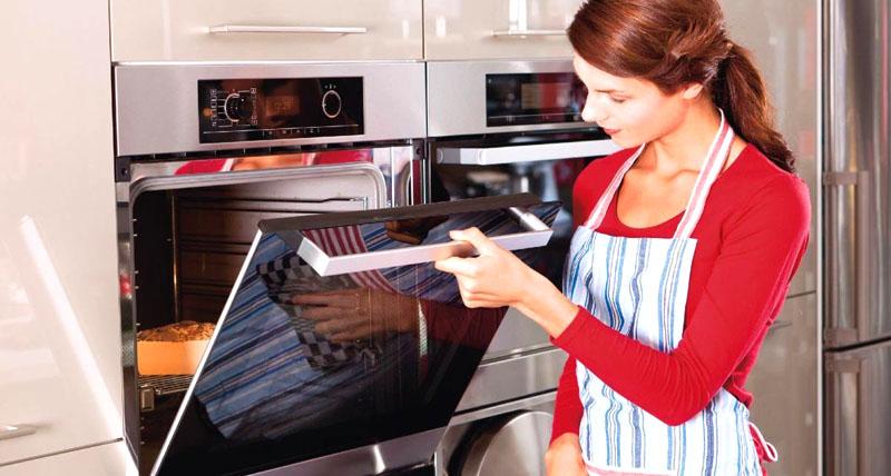 Встроенный духовой газовый шкаф – это комфортное приготовление любых блюд