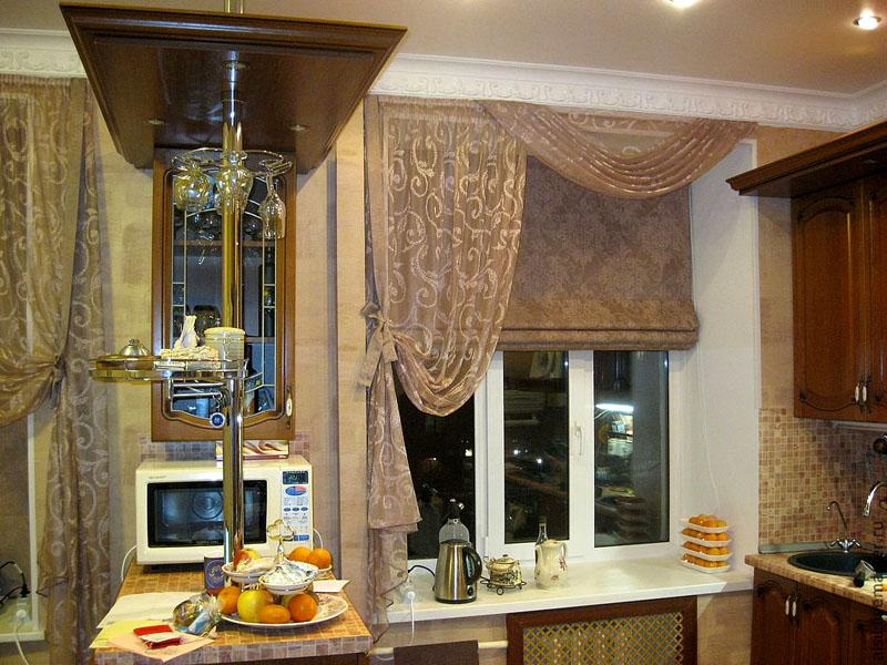 Удивительное вокруг нас: современные шторы на кухню коллекции 2017−2018 гг. в галерее фото