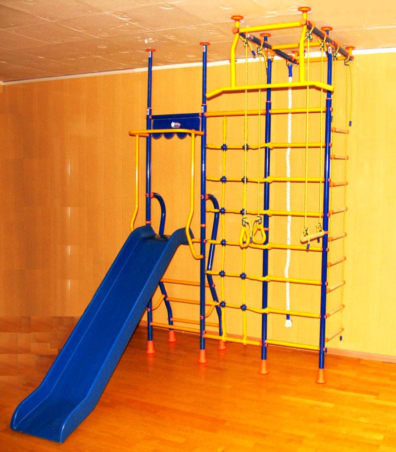 Распорные конструкции – это самое надёжное крепление для детских спортивных комплексов