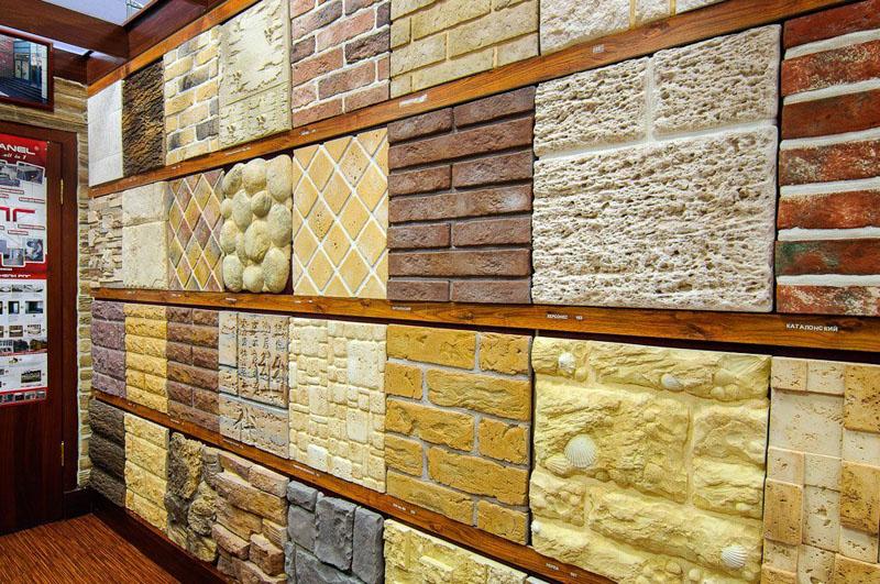 Многообразие искусственного камня для облицовки фасадов частных домов