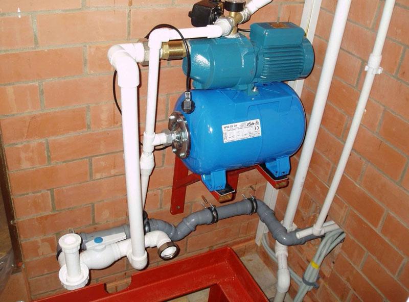 Домашняя насосная станция для водоснабжения