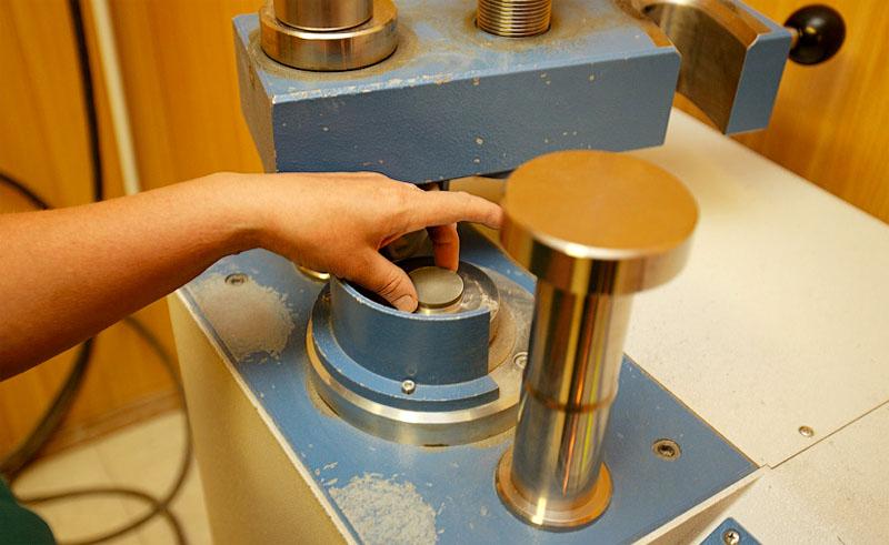 Тестирование цемента