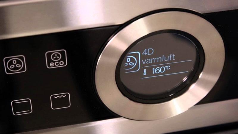 Интуитивно понятное управление помогает новичку быстро освоить применение на практике широких возможностеймикроволновки духовки «два в одном»