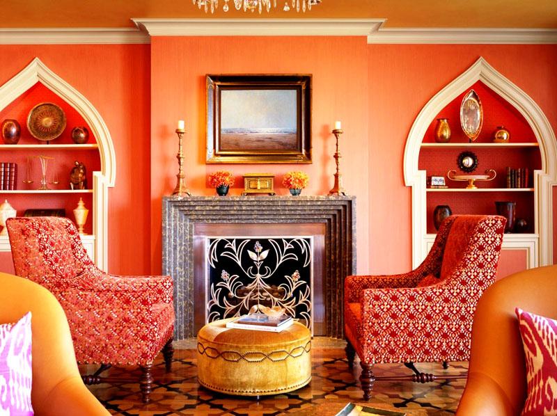 Элементы восточного стиля в интерьере