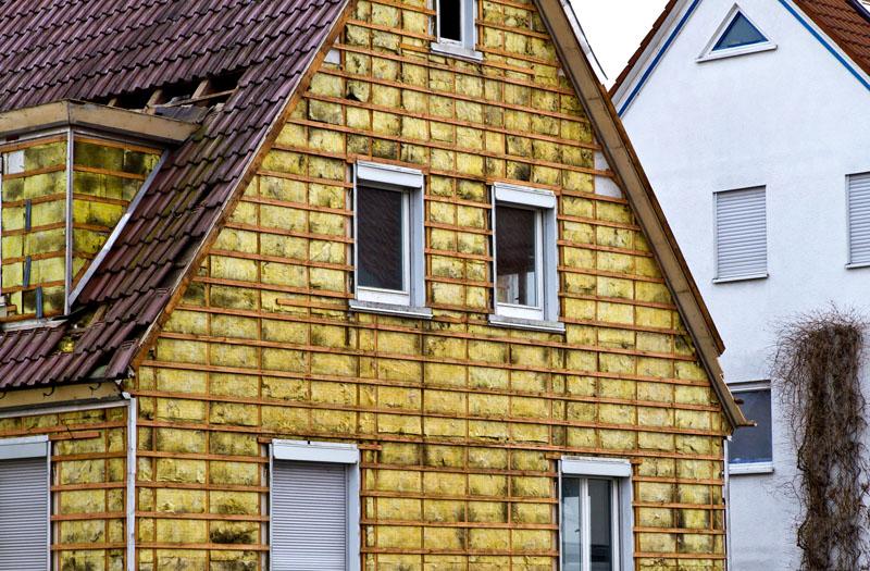 Предварительное утепление деревянного дома