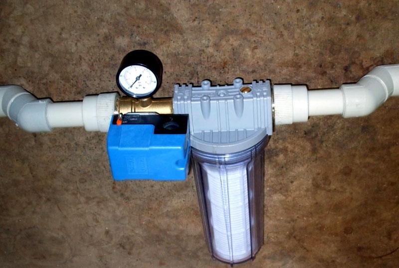 Фильтр в системе водопровода решает многие проблемы