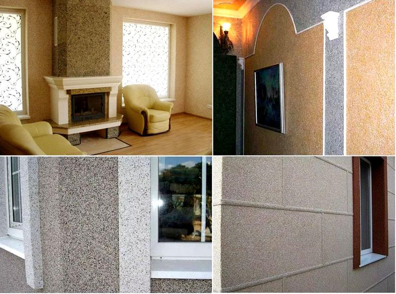 Мозаичный состав может использоваться и для наружных, и для внутренних работ