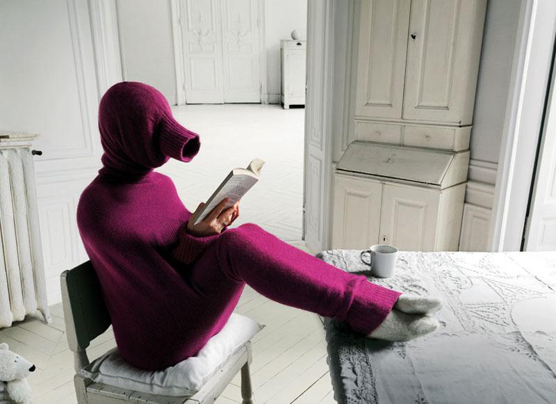 «Холодно, холодно и сыро. Не пойму, что же в нас остыло...» Даже Согдиана знает о том, что сырость и холод − вечные соседи, от которых не спрячешься в тёплом свитере