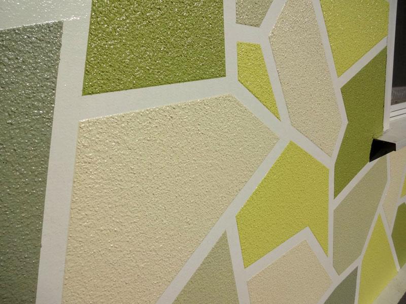 Вариант создания декоративного покрытия