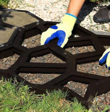 Плитка тротуарная своими руками