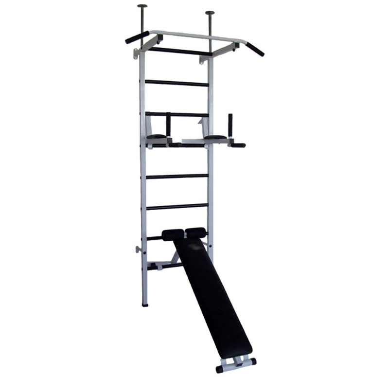 Лестница с брусьями