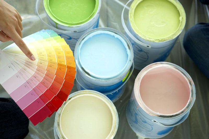 При помощи пигмента можно придать краске любой оттенок
