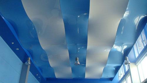 Натяжной потолок: 40 фото удивительных проектов преображения интерьера