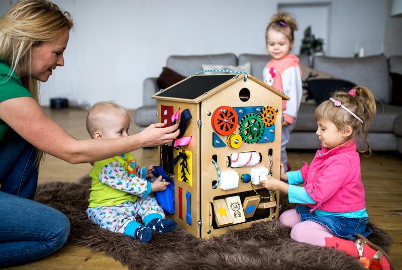 Такая конструкция будет интересна детям разного возраста