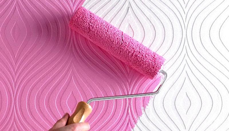 Рельефная поверхность бумажных полотен