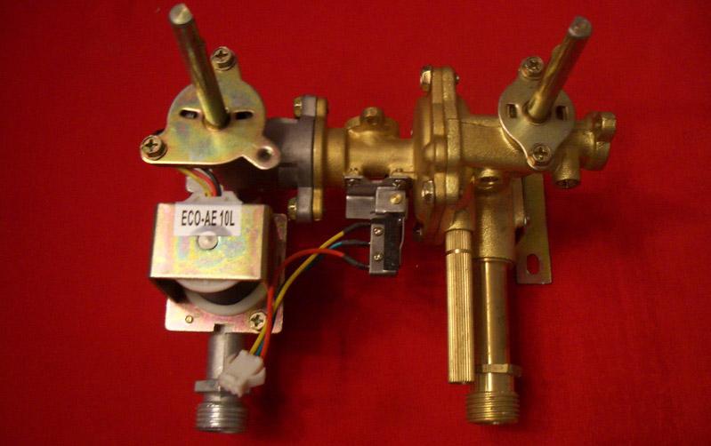 Газоводяной блок водонагревателя