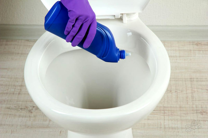 Для уборки следует использовать специальные средства