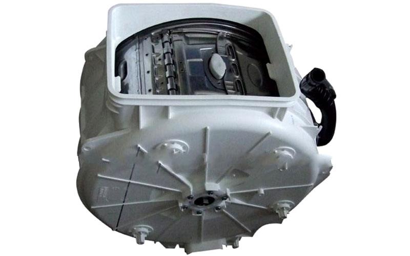 Наличие барабана – основное отличие от машины активаторного типа