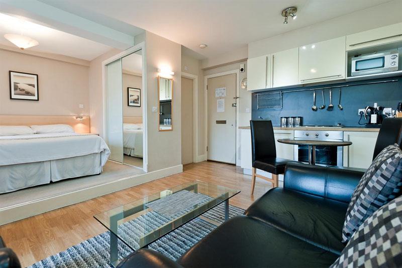Квартира-студия – единое пространство для всех функциональных зон