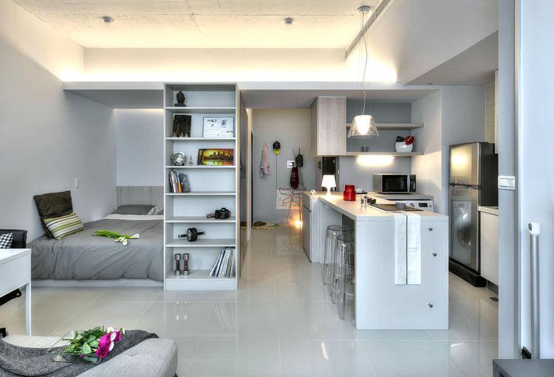 Маленькие хитрости большого преображения: правильный дизайн однокомнатной квартиры
