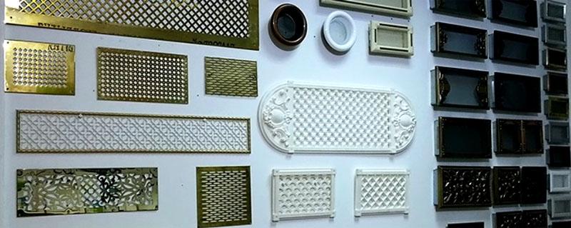 Декоративные решётки для вентиляции на подоконниках