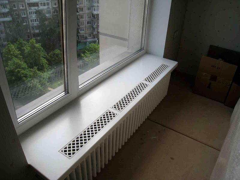 Категорическое «нет» конденсату на окнах — вентиляционные решётки для подоконников