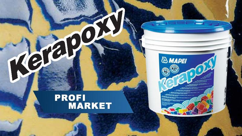 Затирка от Mapei Kreapoxy
