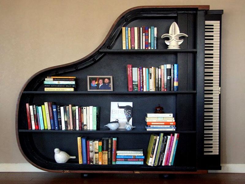 Передвижная секция в виде рояля
