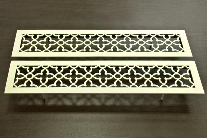 Металлические решётки в персидском стиле