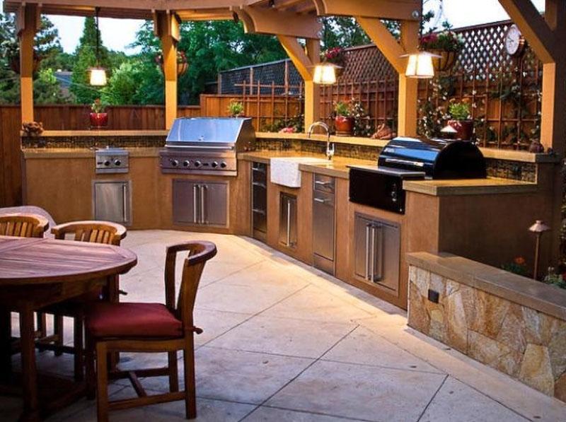 Все плюсы строительства летней кухни на даче: удивительные проекты и фото неожиданных решений