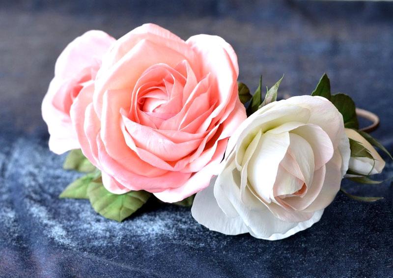 ---18 Цветы из фоамирана своими руками 75 фото для начинающих