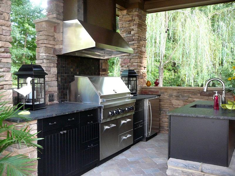 Как построить летнюю кухню на даче: пошаговая инструкция