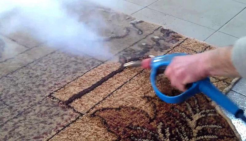 Пароочиститель не только справится с пылью, но и восстановит цвет и поднимет ворс