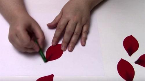 ---30 Мастер класс цветы из фоамирана