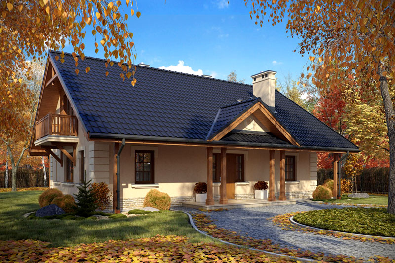 Красивые и практичные проекты одноэтажных домов до 100 м²: особенности выбора