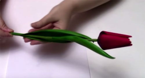 ---37 Мастер класс цветы из фоамирана