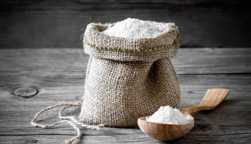 Желательно применять соль крупного помола