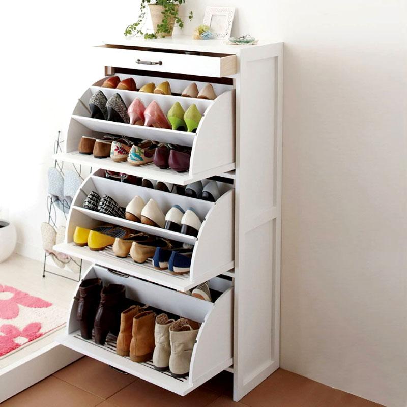 Вся обувь в зоне удобного доступа для всей семьи