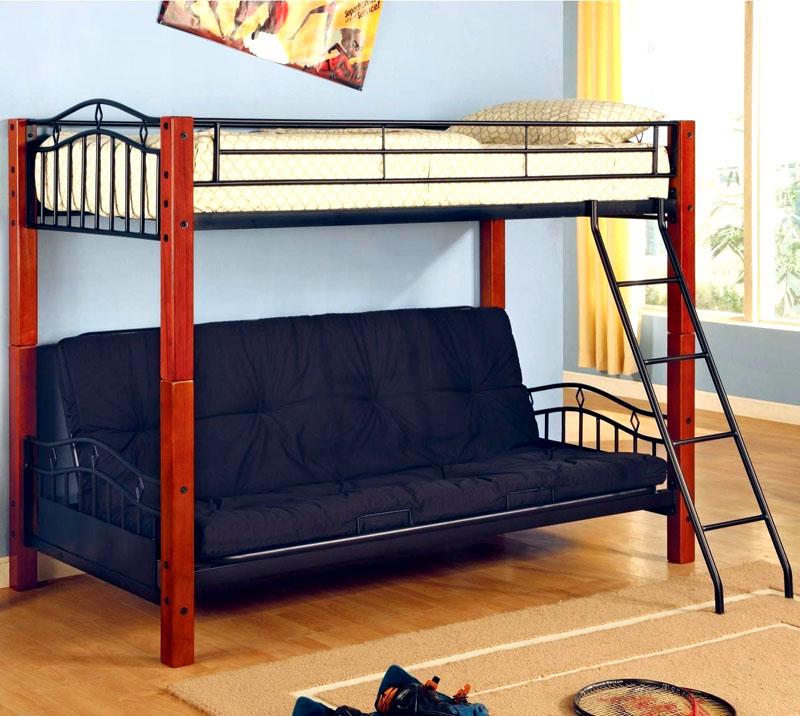 Комбинированный каркас, основание дивана из металла выдержит вес взрослого человека