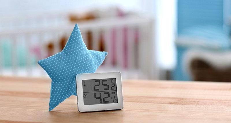 Измеритель влажности воздуха комнатный
