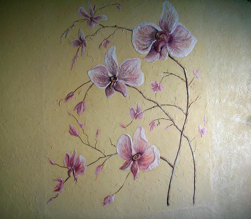 Рисунок для комнаты в стиле эко