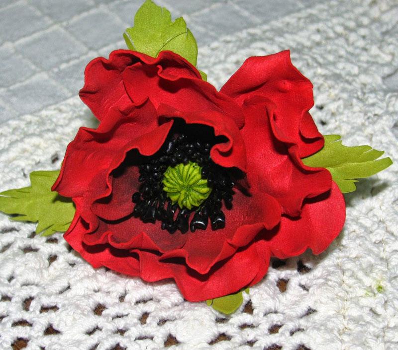 Цветок из иранского материала