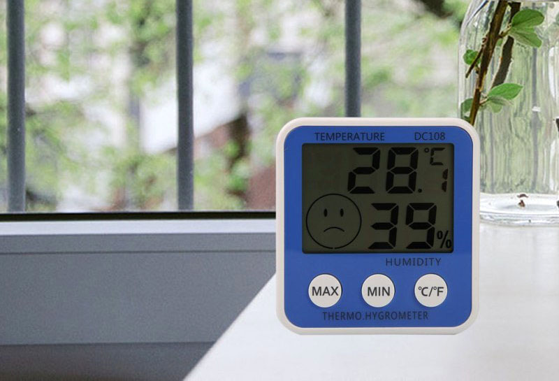 Прибор для определения влажности воздуха